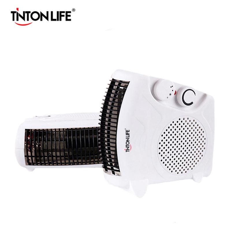 tinton vita di raffreddamento mini scaldino fans 500 w riscaldamento domestico riscaldatore piedi caldi riscaldatore elettrico
