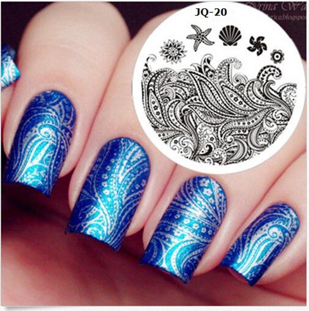 Aliexpress.com : Buy 1pcs HOT JQ Series Image Nail Art ...
