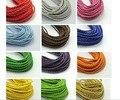 32.8 Футов многоцветный БОЛО Плетеный Leatheroid String Ювелирные Украшения Шнура 3 мм