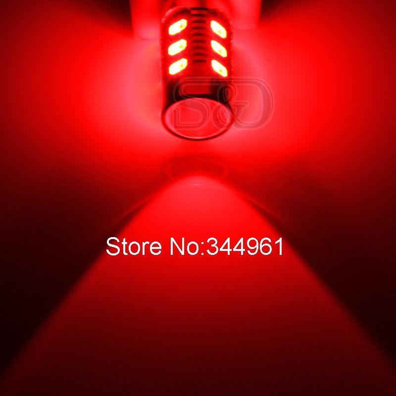 2 шт. 1157 BAY15D светодиодные лампы 12 светодиодов SMD 5630 чипы высокой мощности лампы для стоп-сигналы P21/5 W Автомобильные светодиодные лампы белого, красного, желтого и Авто 12V 24V