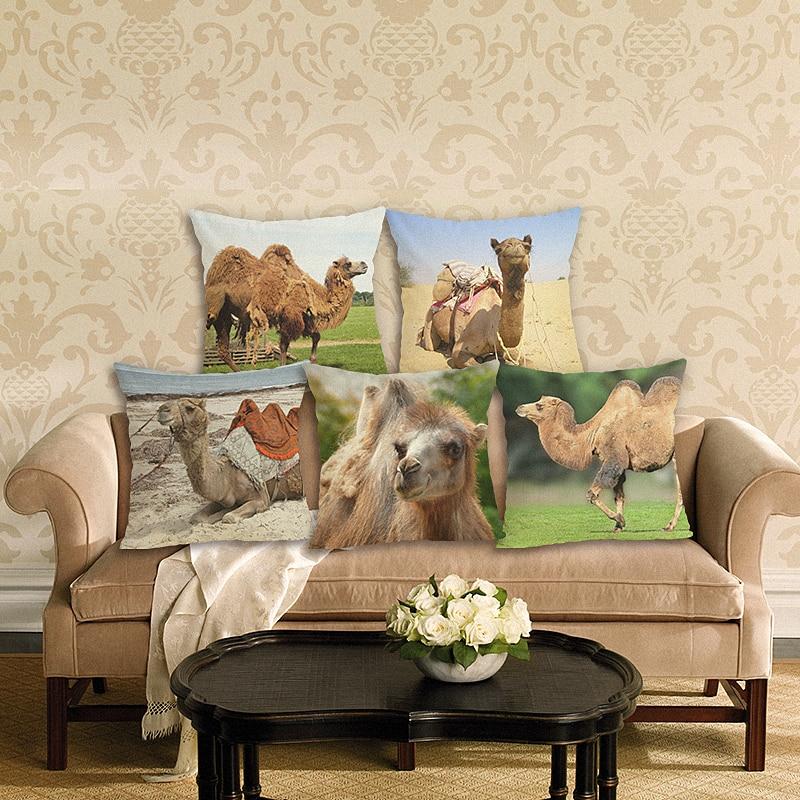 Aliexpress.com : Buy HD Camel Cushion Cover Decorative