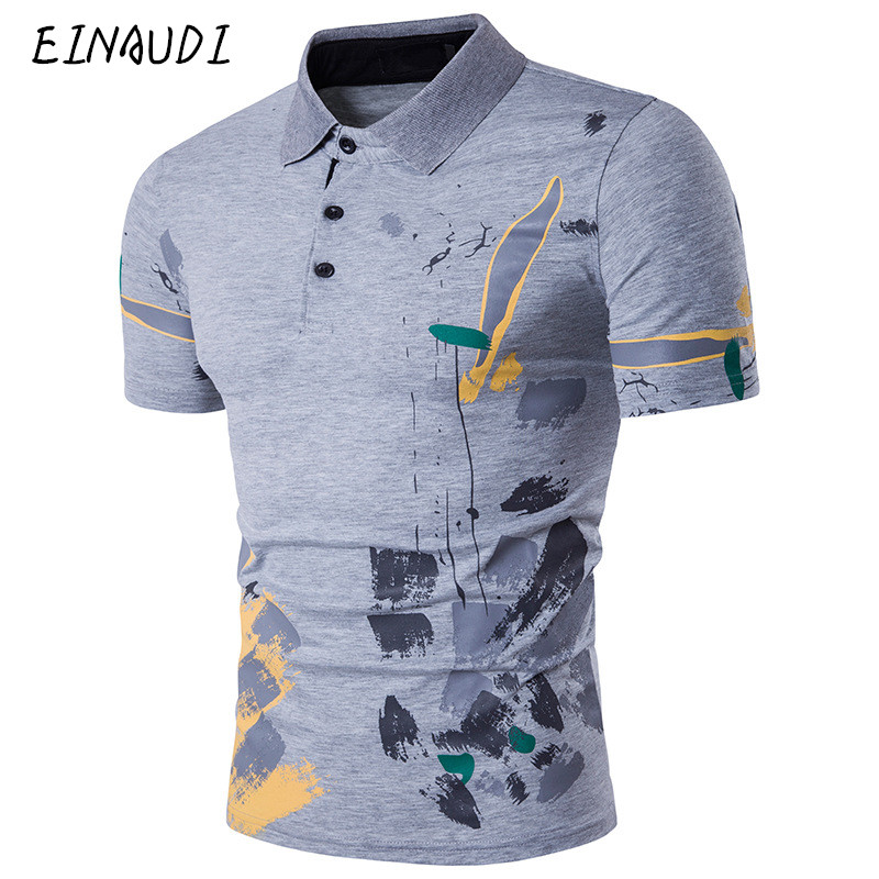 Newest designer 2017 fashion brand male polo shirt for Polo shirts for printing