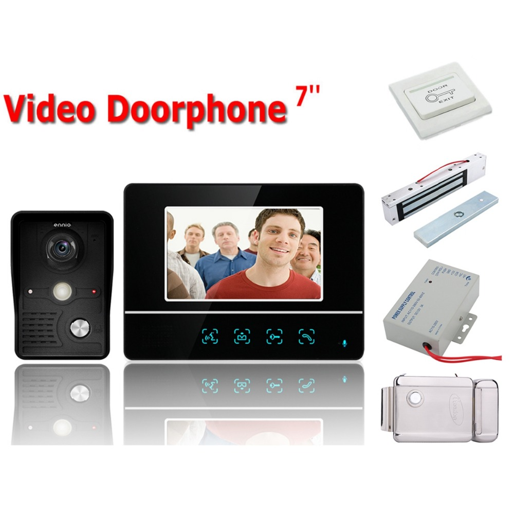Home Security Wired Touch Key 7