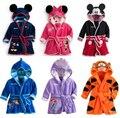 RW-093 Bonito boys & girls pijama dos desenhos animados projeto popular crianças sleepwear um pedaço crianças pijama de varejo