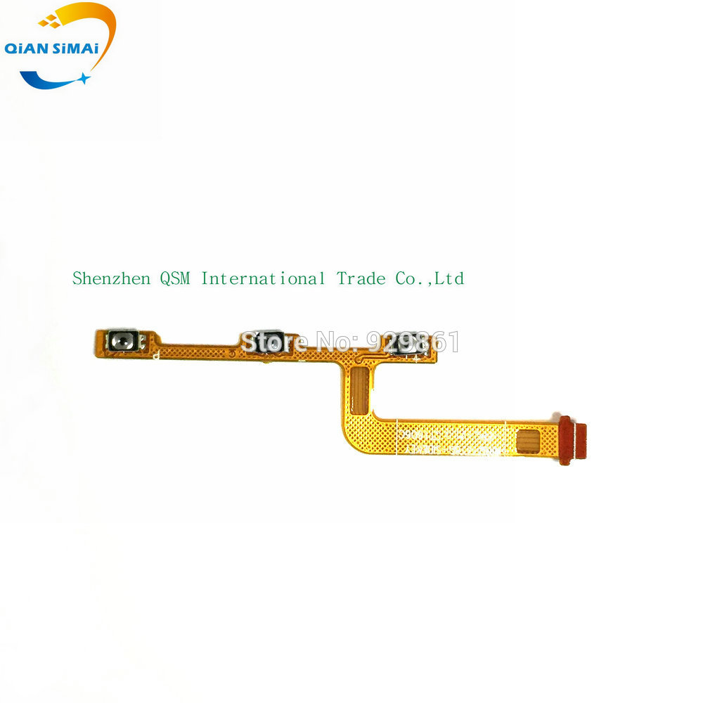 100% New Original Power On/off Button& Volume Up/down Buttons Flex Cable For Meizu M3 Mini M3s Mini Cell Phone