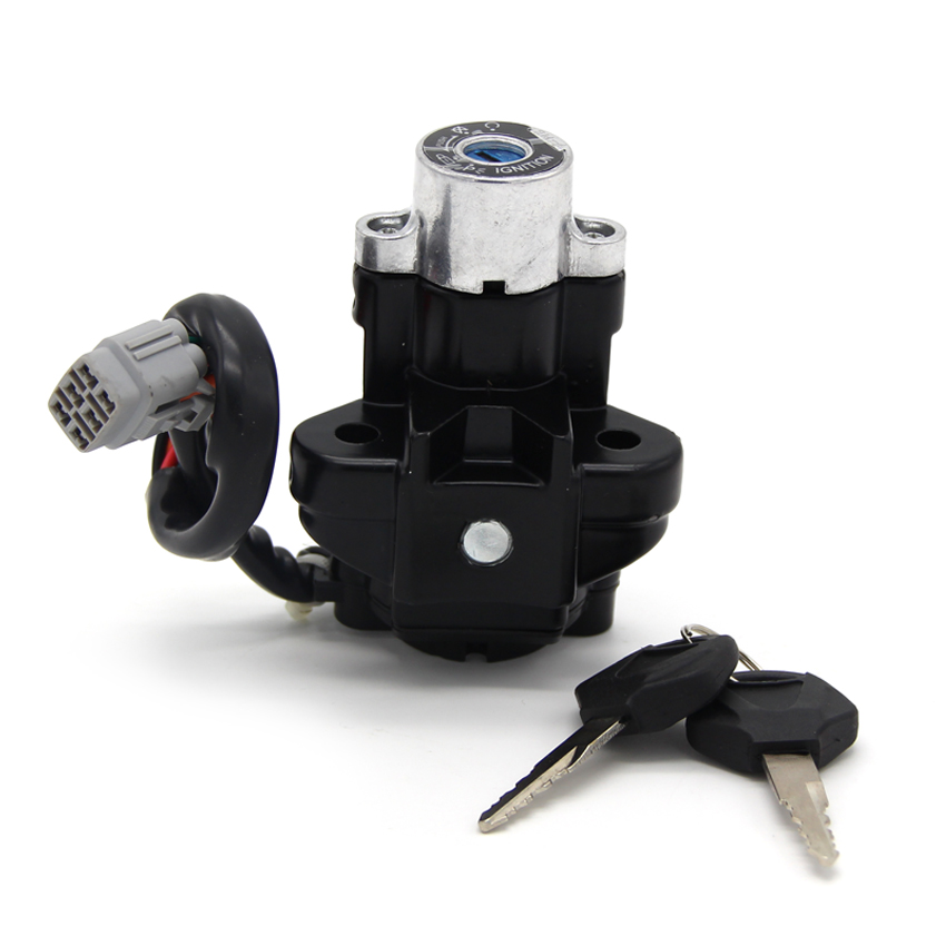 Motorcycle Ignition Switch Lock Key Sets For Suzuki GSF650 GSF650S <font><b>GSF1200S</b></font> GSF1200 GSF1250 GSF1250S Bandit 650 S image