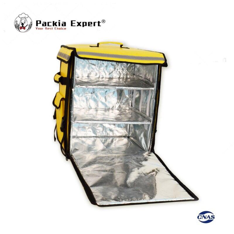 Sac d'isolation de sac à dos de transporteur de nourriture de moto de Brough en gros, sac de livraison de pizza de paquet de nourriture, sac de glace, PEHS433553