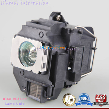 UHE 200 Watt Bulb ELPL54 V13H010L54 Projector Lamp with housing for EPSON 705HD S7 W7 S8+ EX31 EX51 EX71 EB-S7 X7 S72 X72 S8 фото