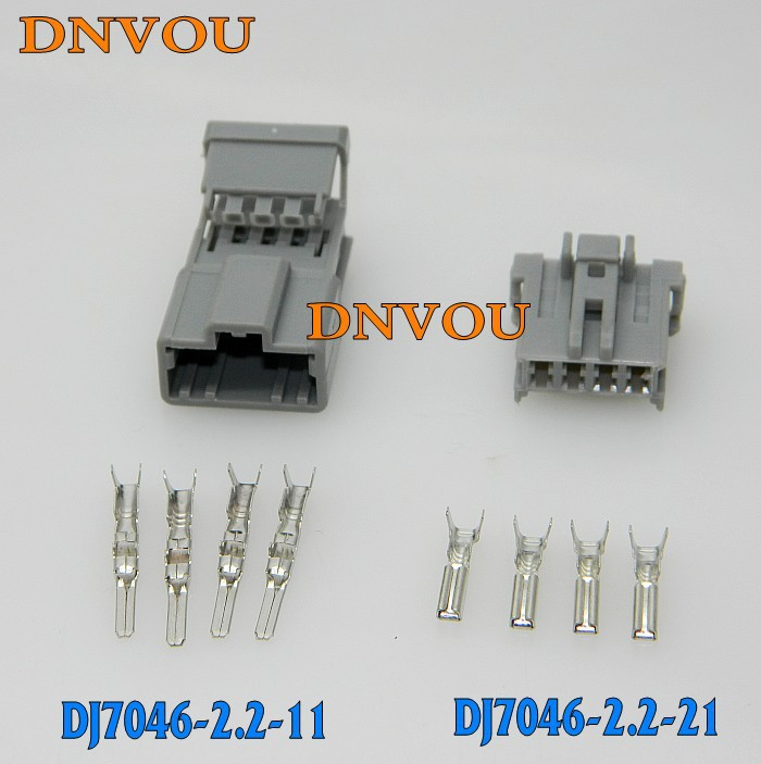 1 sets Kit 4 Pin Electrical Wire automotive Connector Plug Car ...