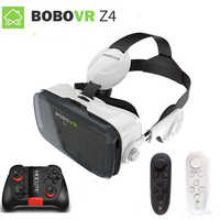 Xiaozhai bobovr z4 vr realidade virtual óculos 3d vr fone de ouvido vr capacete cardboad bobo caixa e controlador bluetooth