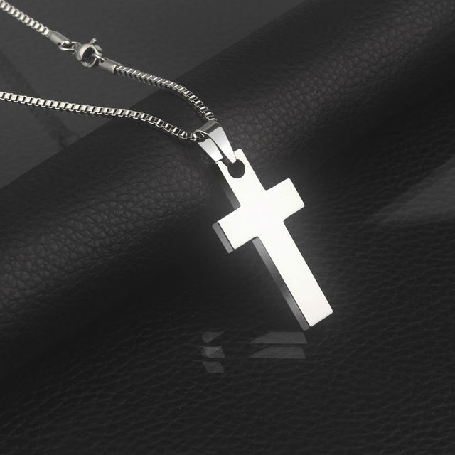 New arrival tungsten carbide cross pendants with 20mm thickness new arrival tungsten carbide cross pendants with 20mm thickness titanium steel neckalce for man aloadofball Image collections