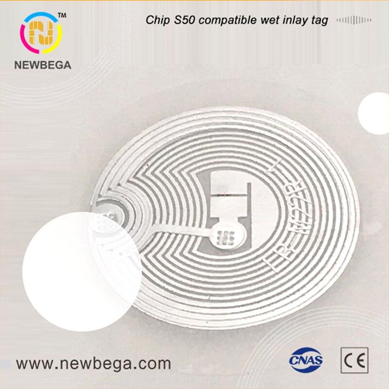 10 قطعة شريحة الاتصال قريب المدى M1 S50 متوافق ملصق الرطب البطانة قطر 29 مللي متر 13.56 ميجا هرتز تتفاعل التسمية NFC العلامة تسليم سريع شحن مجاني
