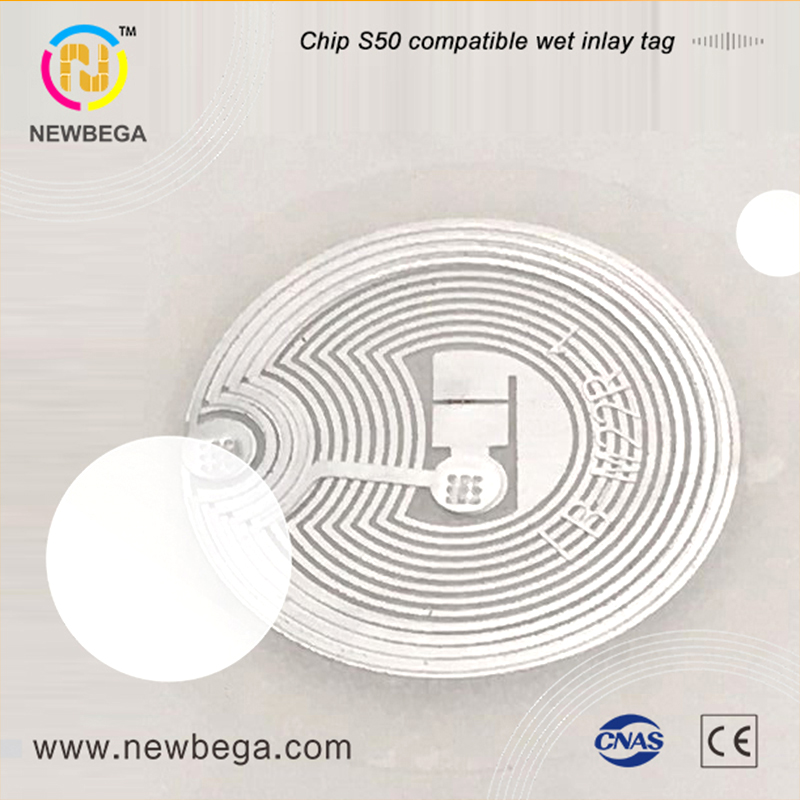 10PCS NFC Chip M1 S50 Compatible Sticker Wet Inlay Diameter 29mm 13.56MHz RFID Lable NFC Tag Fast Delivery Free Shipping