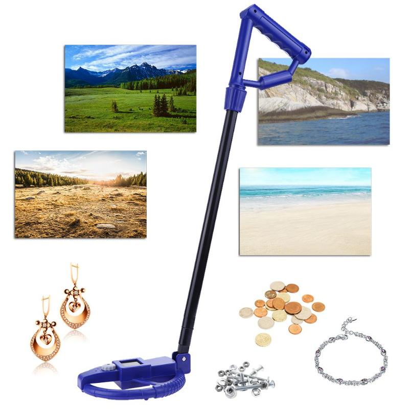 Underground Metal Detector LCD Display Ground Search Metal Detector Treasure Search Finder Gold Digger Children Education Toy md91 metal detector gold digger ground search treasure hot