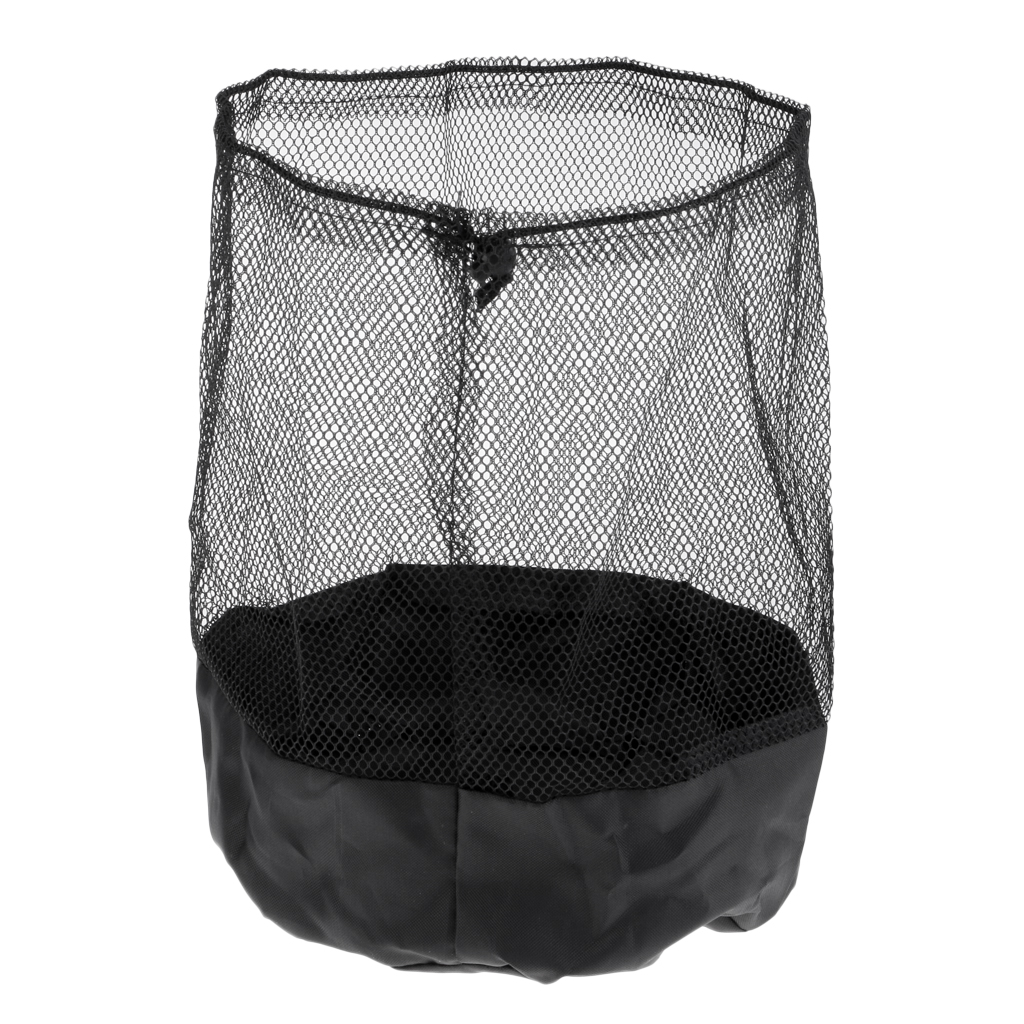 Durable Mesh Drawstring With End Lock Sports Equipment Bag For Balls Cones Disc For Holding Field Markers Saucers Cones