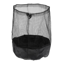 Durable Mesh Drawstring with End Lock Sports Equipment Bag for Balls Cones Disc Holding Field Markers Saucers