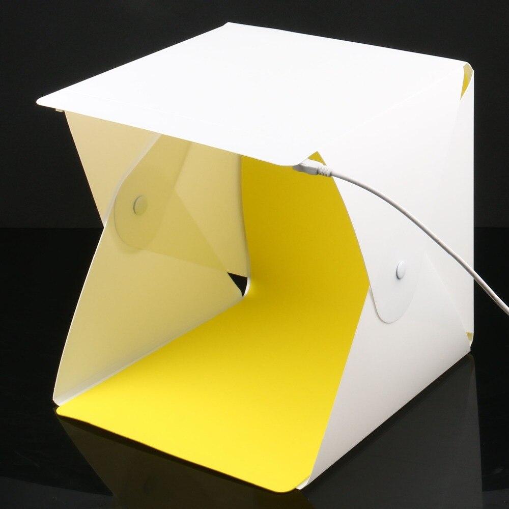 23X22X24cm Protable Folding Photo Studio Lightbox Mini Softbox Tabletop Shooting Ten For DSLR Camera Smartphone