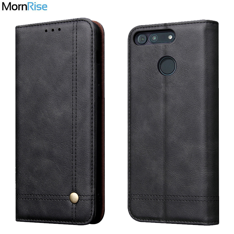 Luxury Retro Slim Leather Flip Cover For Huawei Honor V20 Case Wallet Card Stand Magnetic Book Cover For Honor View 20 Case