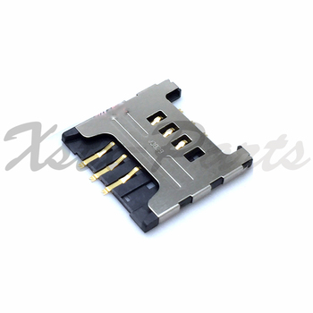 2PCS SIM Card Tray Slot Holder Reader Socket For Samsung GT E1200M E1200 GT-1200M image