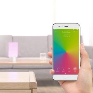 Image 5 - [النسخة الإنجليزية] شاومي Mijia LED ضوء الذكية داخلي ليلة ضوء السرير مصباح التحكم عن بعد اللمس الذكية App التحكم