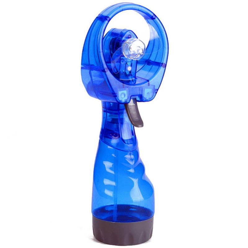Portable Handheld Misting Fan Battery Operated Water Spray Fan Mini Personal Cooling Fans For Outdoor Fine Mist Sprayer