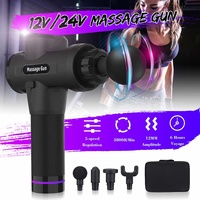 Muscle Massager Tissue Massage Gun 5 Levels Electronic Muscle Relaxing Trainer Foot Back Neck Therapy Body 3800r/min