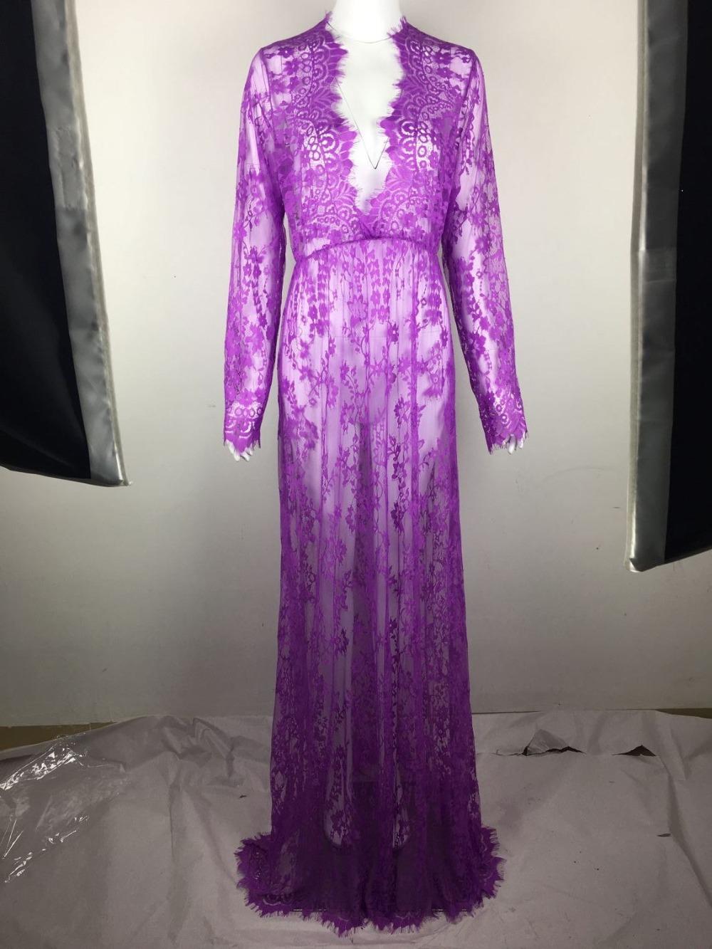 sexy transparent dress