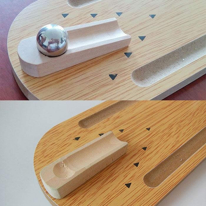 escritorio conjunto de juegos de madera de bolos bowlings interactivo juego de escritorio para nios adultos