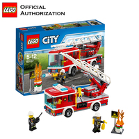 Genuine Building Blocks Fireman Toy City Series Compatible Building Funny Creative lego Blocks Fire Control Gift Toy