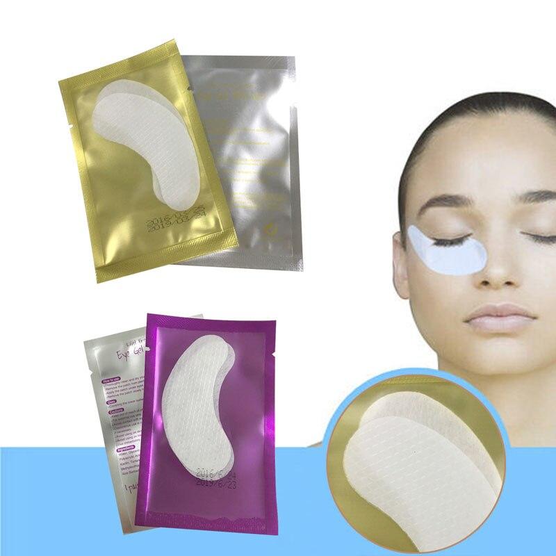 Makeup 10 Pcs Paper Patches Under Eye Pads Eyelash Extension Tips Sticker Wraps Makeup #y207e# Hot Sale Latest Technology