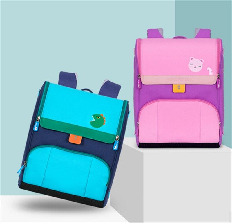 NOHOO sacs d'école pour adolescents garçons fille garçon grande capacité sac à dos étanche 6-12 ans enfants haute qualité sac de livre étudiant