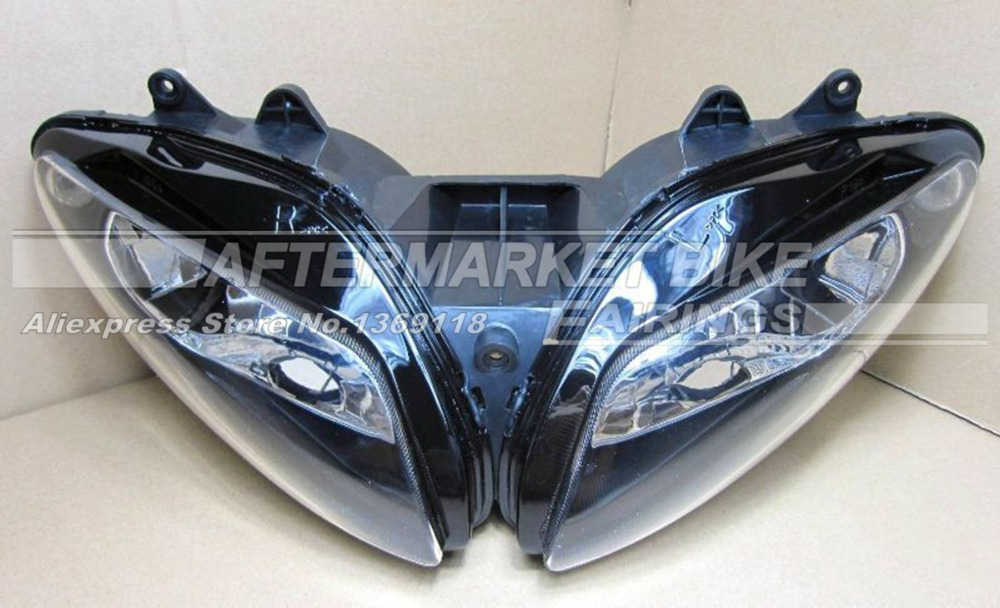 Motorcycle Headlight Set For Yamaha YZF R1 2002 2003 YZFR1 02 03 Motorbike Head Light Front Lamp Assembly