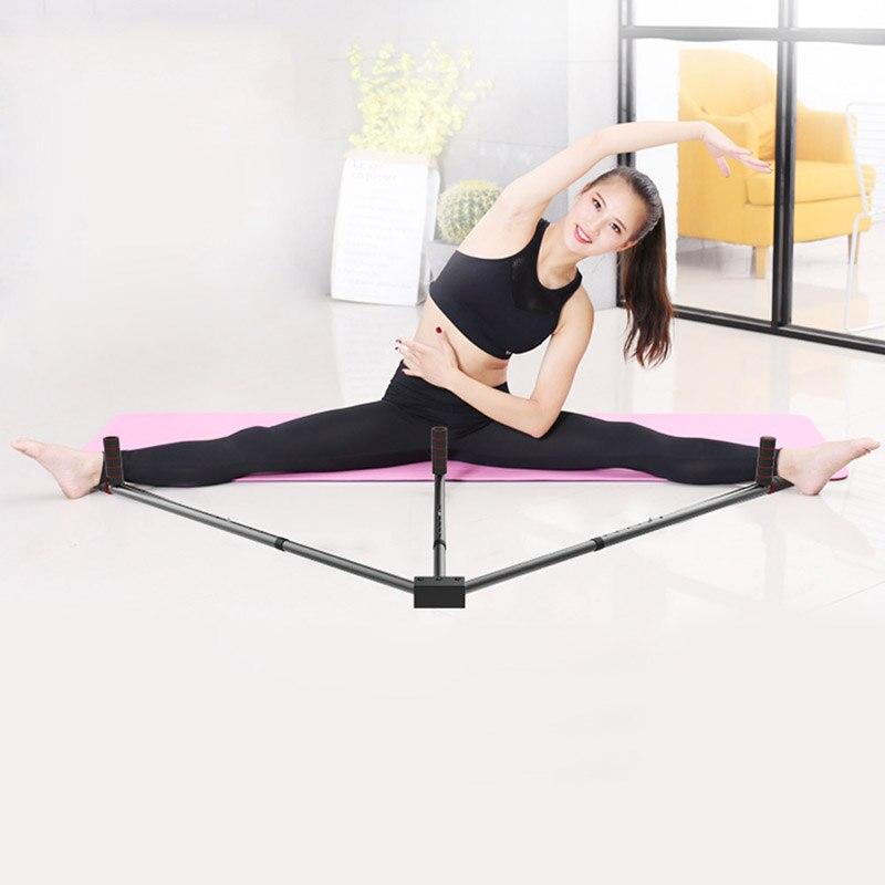Hierro Camilla pierna 3 Bar piernas extensión máquina dividida flexibilidad entrenamiento herramienta para Ballet equilibrio ALS88
