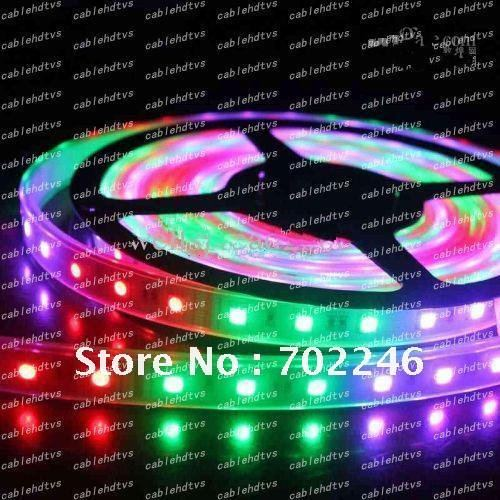 Wholesale - IP65 RGB led strip waterpoorf SMD5050 150leds 500CM,Flexible led strips,500CM/reel