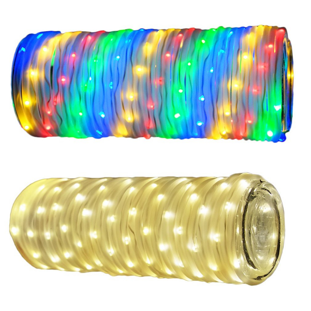 10 Meters Water Pipe Appearance Strip Light With 136 LEDs with Wireless Remote Control For Party Home Decor Light