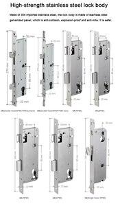 Image 5 - Impermeabile Stile Europeo Bluetooth di impronte digitali di accesso elettronico Intelligente serratura della porta Per Porta di Vetro di Alluminio
