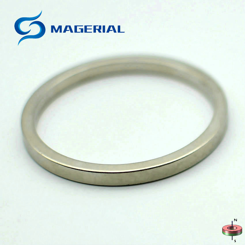 1-40pcs NdFeB N42 Axially Magnetized Magnet Ring OD 60x52.5x5 mm about 2.36'' Large Strong Neodymium Permanent Rare Earth Magnet 1 pack grade n38 ndfeb micro ring diameter od 9 5x4x0 95 mm 0 37 strong axially magnetized nicuni coated rare earth magnet