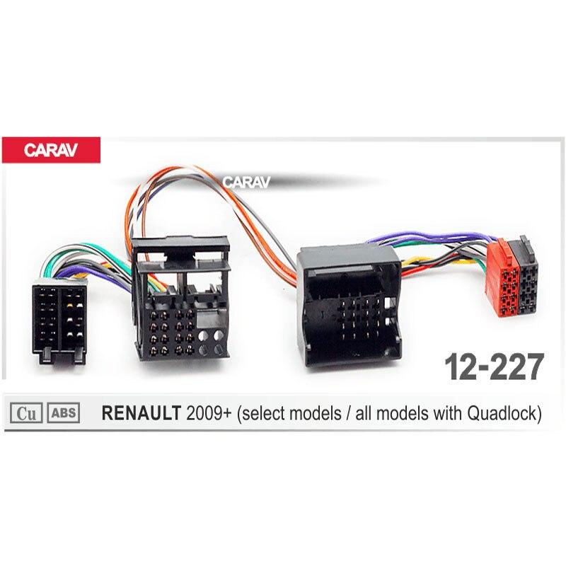 Carav 12 227 Iso Radio Adapter For Renault Select Models