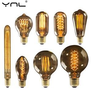 Retro Edison Bulb E27 220V 40W