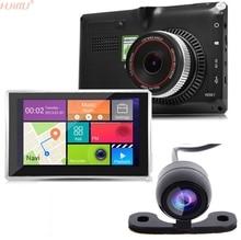 """5 """"Wi-Fi Android 4 Видеорегистраторы для автомобилей GPS навигация парковка регистраторы Планшеты PC Bluetooth видеорегистратор сзади Камера видеокамера"""