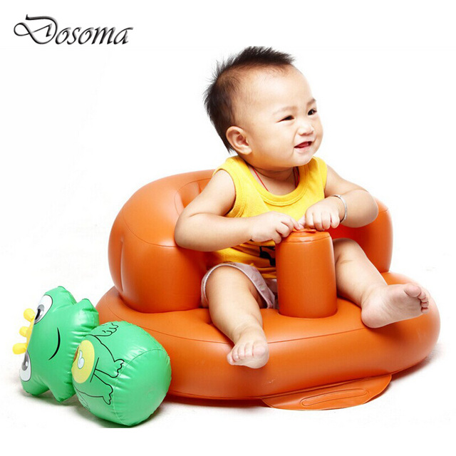 Baby Inflatable Sofa Baby Thickened Multifunction Studies Chair Outdoor Inflatable Toys Portable Security Back Seat Bath Stool