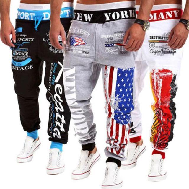 Mens Joggers 2017 Casual pantalones de Chándal Basculador Sweat Danza Sportwear Baggy Harem Pantalones Pantalones Al Aire Libre Pantalones de Cintura Elástica