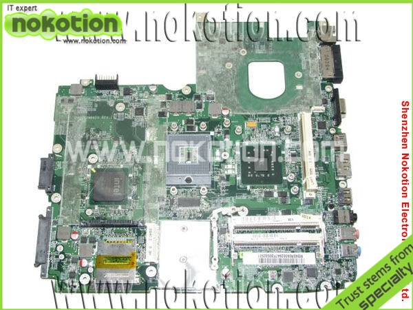 MB.ASR06.002 Laptop Motherboard For Acer 6930 Mother Board MBASR06002 DA0ZK2MB6F1 REV:F intel PM45 DDR2 Full Tested