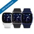 2015 a prueba de agua smart watch m26 hombres mujer bluetooth podómetro anti-perdida smartwatch llamada sync para android smartphone