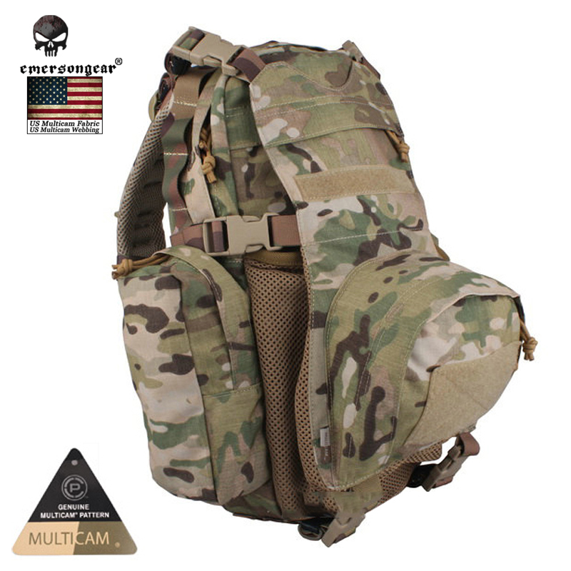 цены EMERSON Yote Rucksack Hydration Travel Bag Multi-purpose Molle Military Tactical Backpack Shoulder Camping Hiking Climbing Bag
