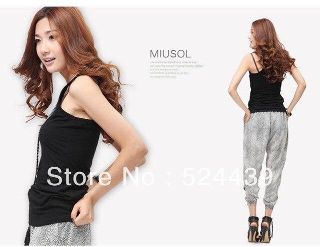 drop shipping Multicolour long design tank modal women's spaghetti strap vest basic vest thread,modal camisoles