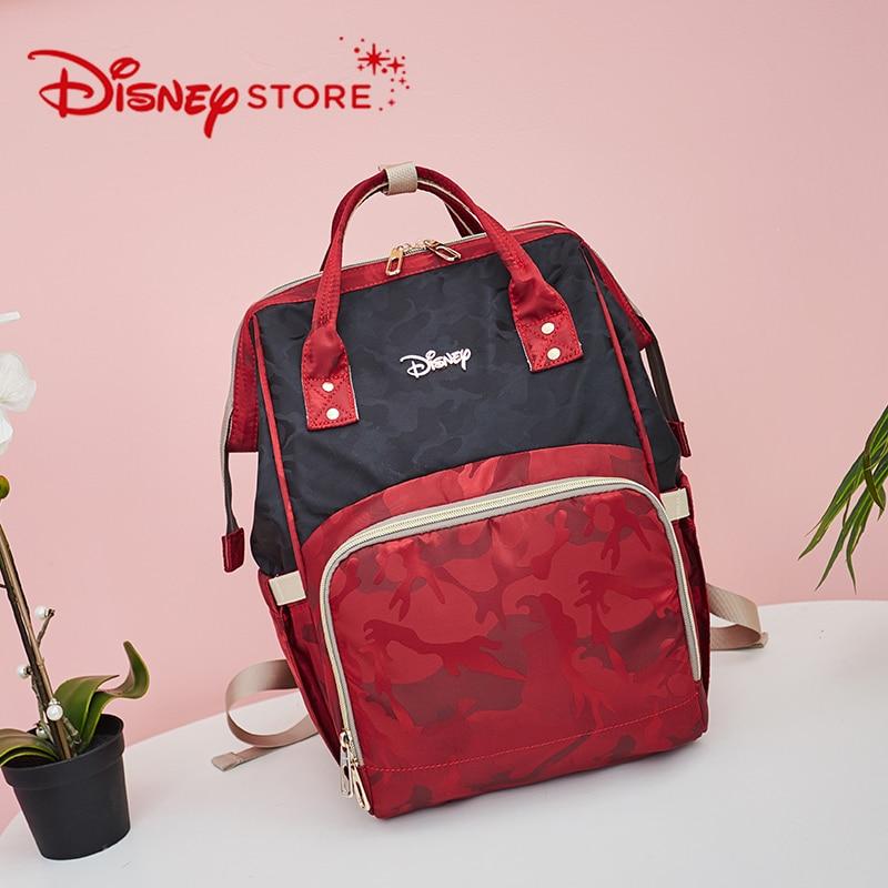 Disney Mummy Bag Multi-function Big Capacity Fashion Camouflage Backpack Bolsa Maternidade Stroller Nappy Bag Diaper Bag
