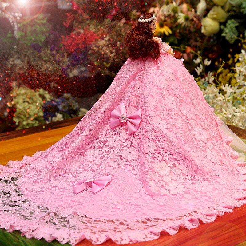 Poupée de mariage musique princesse jouets pour filles bébé poupées jouets pour enfants Reborn poupée envoyer aux filles les meilleurs cadeaux de noël - 6