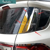2 PCS Car NEW ABS Chrome Rear Window Decorative Light Strip Case For Ford The 2013
