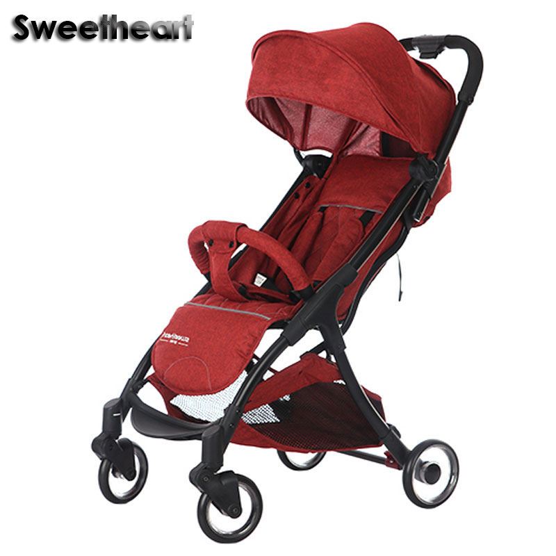 Sweetheart 2019 new style baby strollers Foldable light Russia free post pushchairSweetheart 2019 new style baby strollers Foldable light Russia free post pushchair